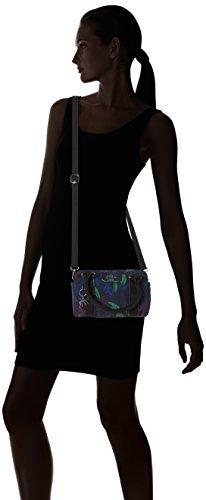 Kipling - Bex Mini, Borse a secchiello Donna Multicolore (Orchid Garden)