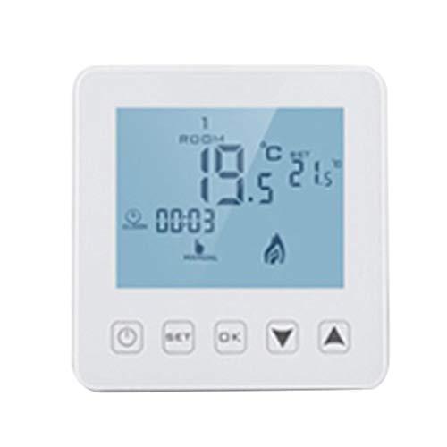 Tubayia WIFI Funk Programmierbar Temperaturregler Thermostat Temperatur Controller Raumthermostat für Fußbodenheizung - Funk-thermostat Wifi