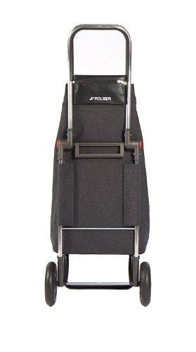 ROLSER Einkaufsroller LOGIC RG / ECOMAKU, MAK001, 41 x 32 x 105,5 cm, 52 Liter, 40 kg Tragkraft carbon