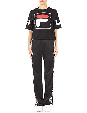Fila Mujer 682398001 Negro Algodon T-Shirt