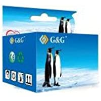 G&G HP 901XL NEGRO CARTUCHO DE TINTA REMANUFACTURADO CC653AE/CC654AE