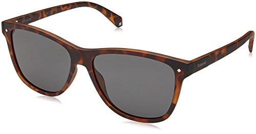Polaroid Gradient Wayfarer Women's Sunglasses - (PLD 6035/S N9P 56M9|56|Grey Color) image