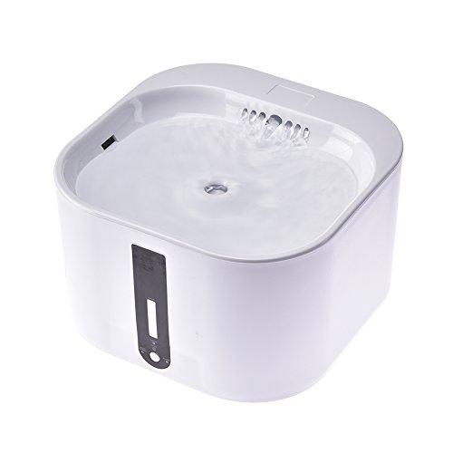 2L pet automatique fontaine d'eau chargeur chiens chats fontaine d'eau ultra-silencieux pompe double modes pet automatique distributeur d'eau