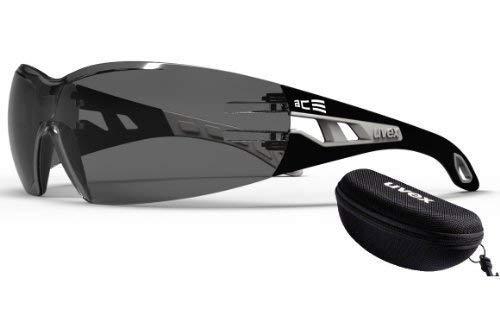 ACE Etui Schutzbrille Uvex PHEOS Schutz-und Sonnenbrille 2in1 Edition, inkl. Hard-Case