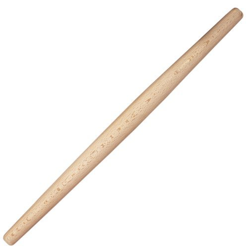 HIC Rolling Pin Tapered, 21-Inches by HIC Porcelain Tapered Rolling Pin