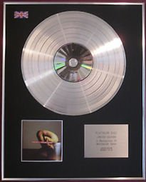 THERAPY-Platinum Disc-TROUBLEGUM CD