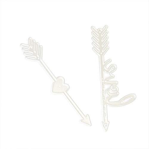 Stanzmaschine Stanzschablone Piebo Lernspielzeug Prägeschablonen Stanzformen Für DIY Scrapbooking Album Schneiden Schablonen Papier Karten Sammelalbum Dekor Metall Love Buchstabe Digital Form