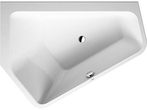 Duravit Badewanne Paiova 5 1770x1300mm Ecke links, Einbauversion, weiß, 700390000000000