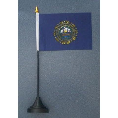 NEW HAMPSHIRE Stato americano bandiera da tavolo
