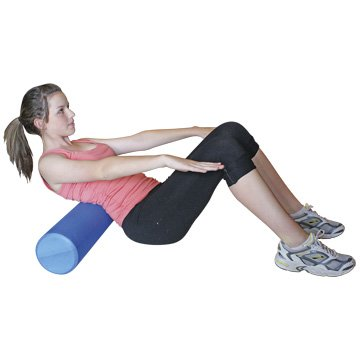 Inditradition Grided Form Roller For Exercise (Blue Color) - 18 Inch Length / Blue (Balance Exerciser)