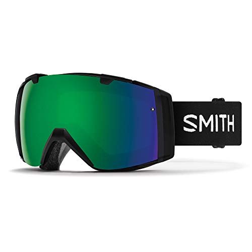 Smith I/O Skibrille Unisex Erwachsene, Schwarz