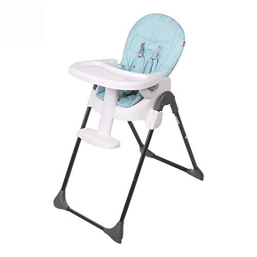 JFFFFWI Babystuhl Hochstuhl, Baby Esszimmerstuhl tragbar klappbar Kinder Esszimmerstuhl Multifunktions-Baby Essen Esstisch und Stuhl höhenverstellbare Rückenlehne verstellbare Platte verstellbare Ge -