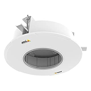 Axis 01172-001 T94P01L Indoor/Outdoor Recessed Mount for M5525-E PTZ Dome Network Camera - White