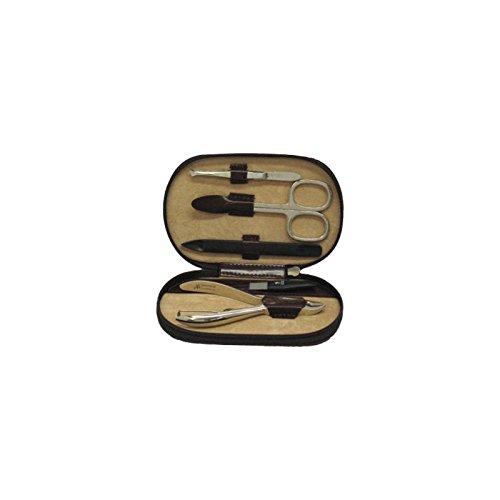 Windrose Classico Manicure avec bestückungen de la maison ZWILLING/sollingen 12, 5 cm (B/T/H): 12,5 / 8 / 2 cm 2 Brun