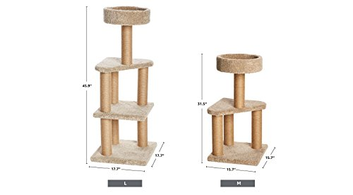 Amazon Basics Cat Tree with Scratching Posts - Large 6