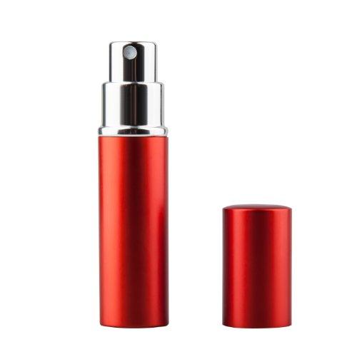 Trixes - Flacon Rouge Vaporisateur Atomiseur Aftershave Parfum Voyage Remplissage Facile 5ml