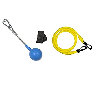 EasyB Allz Single Handle Pulley Made in Germany + 1Rubber Band + 1Door Frame Clamp
