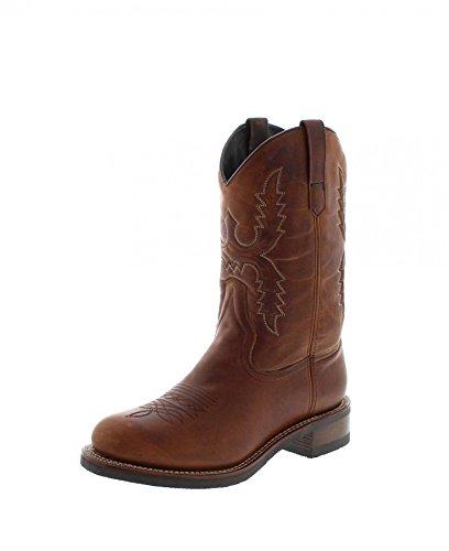 Sendra Boots Herren Cowboy Stiefel 14340 KARLUK mit Thinsulate Braun 43 EU