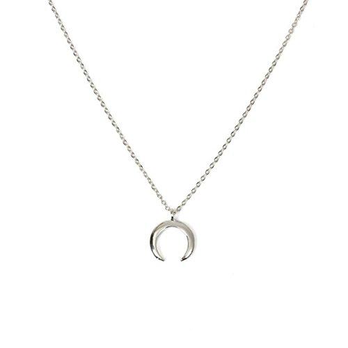 �r Damen Mit Anhänger Elefanten Muster Gold Gliederkette Kurz Halsband Schmuck (I) (Holiday Schmuck)