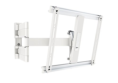 Vogel\'s THIN 445 TV-Wandhalterung für 66-140 cm (26-55 Zoll) Fernseher, schwenkbar und neigbar, max. 18 kg, Vesa max. 400 x 400, Weiß