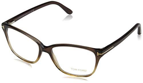 Tom Ford Damen FT5293 050 54 Brillengestelle, Braun (MARRONE SCURO/ALTRO),