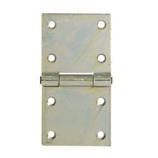 Heavy Rectangular Hinges Zinc-Plated Steel aldeghi Art.126 – 3