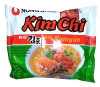 Nong Shim Kim Chi Nudeln Scharf 125g Korea