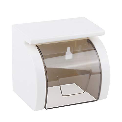 ViaGasaFamido Multifunktions-Papierhandtuch-Speicher-Gestell-Badezimmer-wasserdichte Gewebe-Kasten-freie lochende Wand-hängende Rollenhalter-Lagerung
