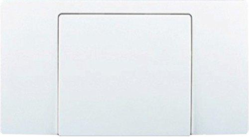 Sanit Betätigungsplatte für Start/Stopp-Spülung alpin-weiß 16.017.01..0000