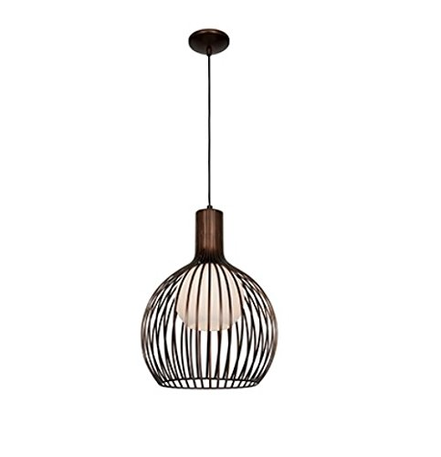 Access Lighting 23435-BRZ/OPL Chuki   One Light 15-Inch Diameter Pendant with Opal Glass Shade, Bronze Finish by Access Lighting (Brz-finish)