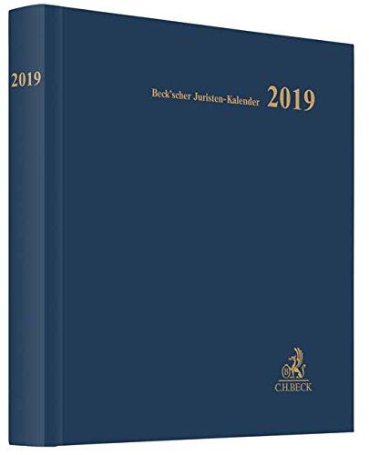 Beck'scher Juristen-Kalender 2019