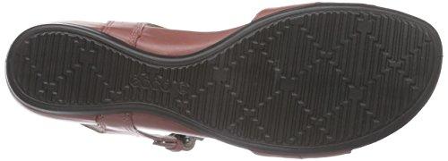 ECCO Touch 25 S, Scarpe Col Tacco con Cinturino a T Donna Rosso (Rot (PETAL/PETAL59524))