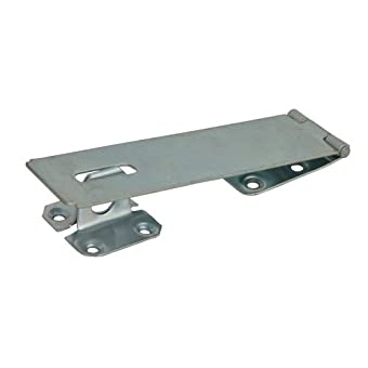 Forge Hasp & Staple - Security Zinc Plated 150mm