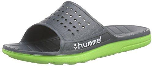 hummel HUMMEL SPORT SANDAL, Unisex-Erwachsene Dusch- & Badeschuhe, Grau (Dark Slate 2482), 41 EU