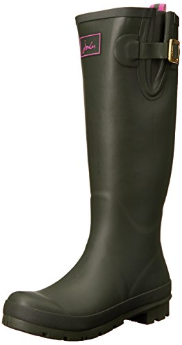 Joules Fieldwelly, Bottes Femme Vert (olive)