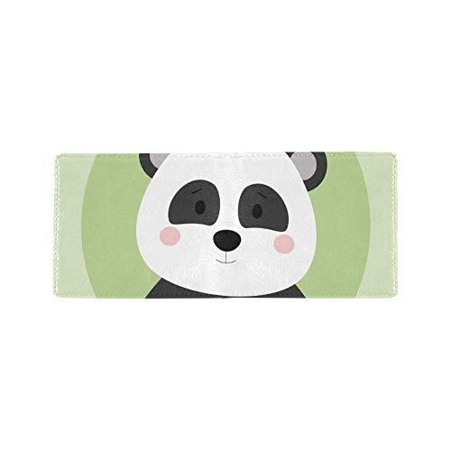 Chinesische Panda Cartoon Mode Kühle Leder Visitenkarte Münze Id Beutel Reise Clutch Geldbörse Geldscheinklammer Brieftasche Fall Für Mädchen Männer Und Frauen Vordere Tasche Scheckheft -