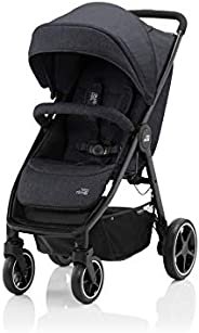 Britax Romer B-AGILE M Stroller for Group 01 ,From 0-4 YEARS,From 0-22 kg -Black Shadow
