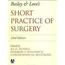 Bailey & Love's Short Practice of Surgery, 23Ed