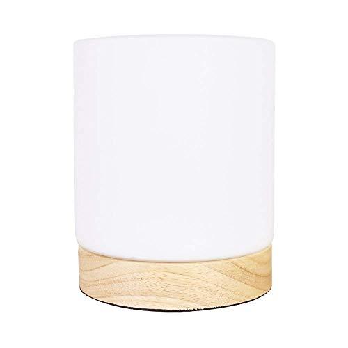 N/A NA Tischlampen, Shade & Holzsockel Nachttischlampe for Nachttisch, Schlafzimmer Wohnzimmer, Esszimmer, Cafe Bar, Flur Dekor -