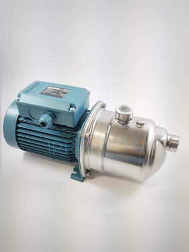 Irrifarma Elektropumpe Autoclave NGXM 4/A 1 PS, selbstansaugende Pumpe auch mit Lufteinlassvorrichtung, leise, für Domestico, Irrigation, Garten, Waschgänge, Oberfläche, Einphase 0.75 kw 220 V