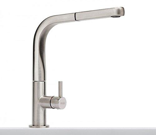 Preisvergleich Produktbild Franke Sinos Edelstahl-Optik Hochdruck Mischarmatur Ausziehauslauf Wasserhahn HD