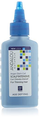 Andalou Naturals - âge Défiant Argan Endiguer Cellules Cuir chevelu Intensif Pour Amincissement Cheveux - 2,1 oz.