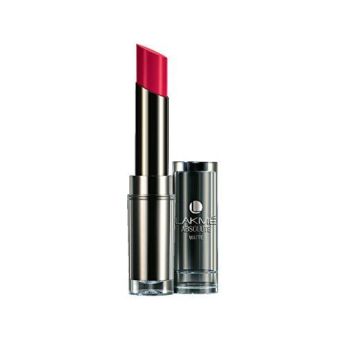 Lakme  Absolute Matte  Lipstick, Pink Passion, 3.7 g