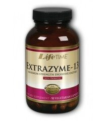 Extrazyme 13 Digestive Enzymes LifeTime 90 VCaps -