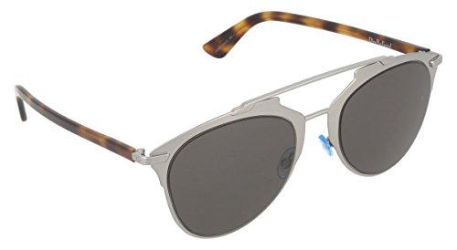Dior Damen DIORREFLECTED NR 31Z Sonnenbrille, Grau (Ruthenium Havana/Brown Grey), 52