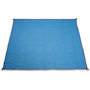 Reisen 1x Sandfreie Stranddecke Strandmatte Picknick Decke Campingdecke Strand Tuch Schlafausrüstung
