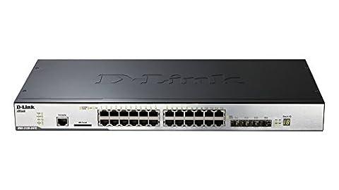 D-Link DGS-3120-24SC/SI Managed Switch (24-Port Gigabit L2 Stackable)