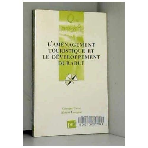 Aménagement touristique et le développement