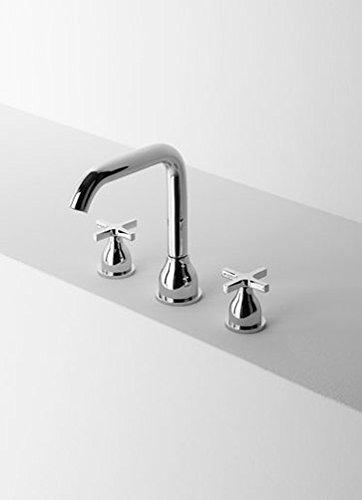 Agape Memory Mixers washbasin tap set three holes ARUB1030S