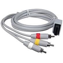 Câble Audio-Vidéo (RCA) Pour Console de jeu Nintendo Wii AV Câble